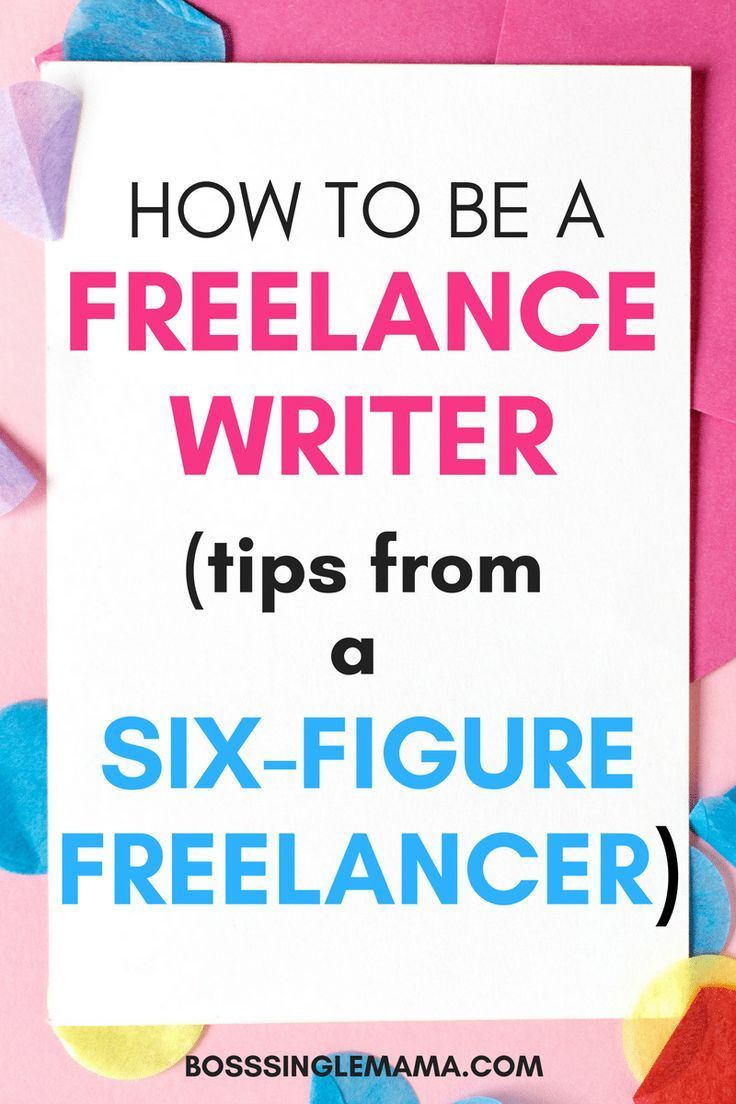 How to Be a Freelance Writer in 2019 Freelance writing