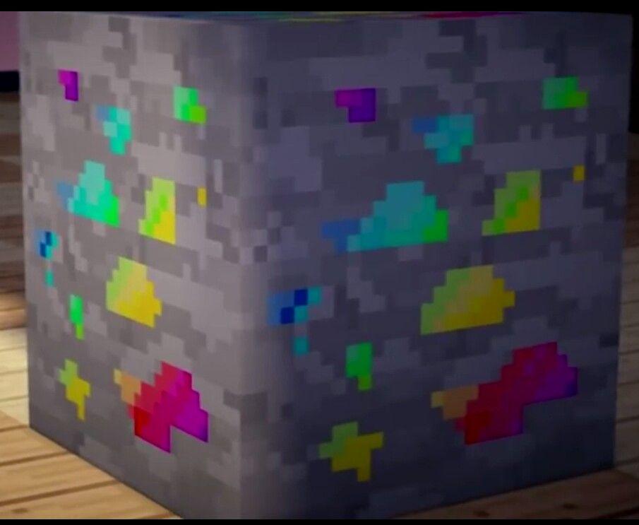 Minecraft Rainbow Ore Anything Minecraft Except Skins Pinterest - Minecraft lustige hauser