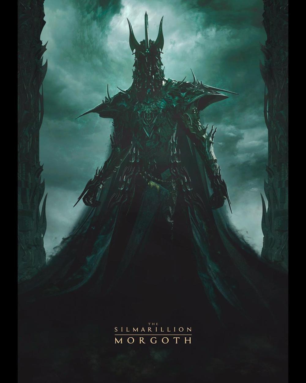 Melkor And Sauron Morgoth Tolkien Melkor