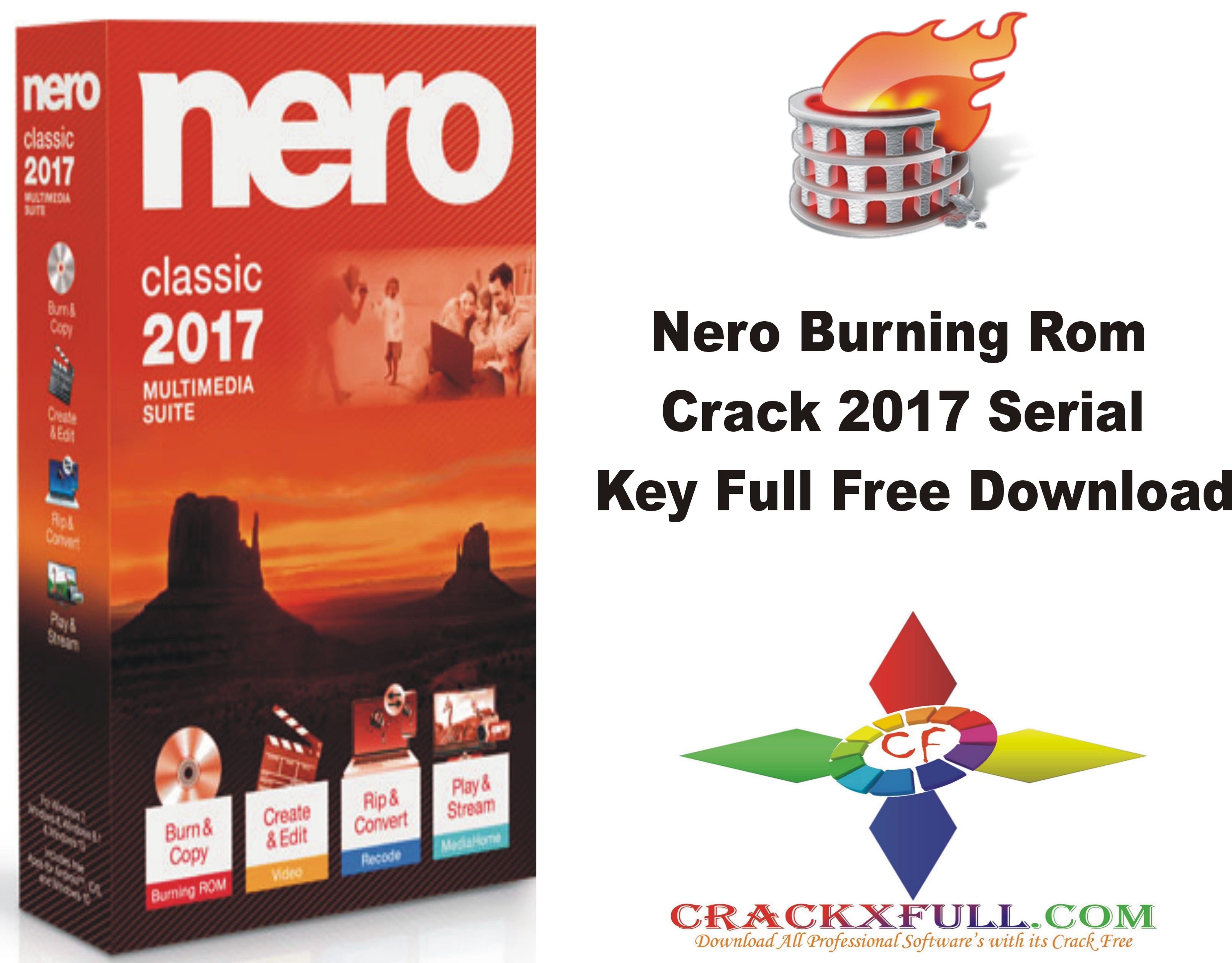 nero burning rom 2017 product key