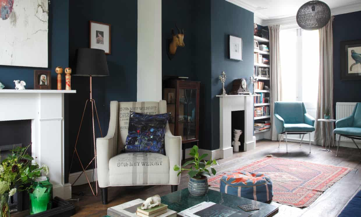 Inside my art gallery home is part of Living Room Rug Fireplaces - Art sets the tone in each room of this home, a gallery with a difference  Kate Jacobs is given a private view