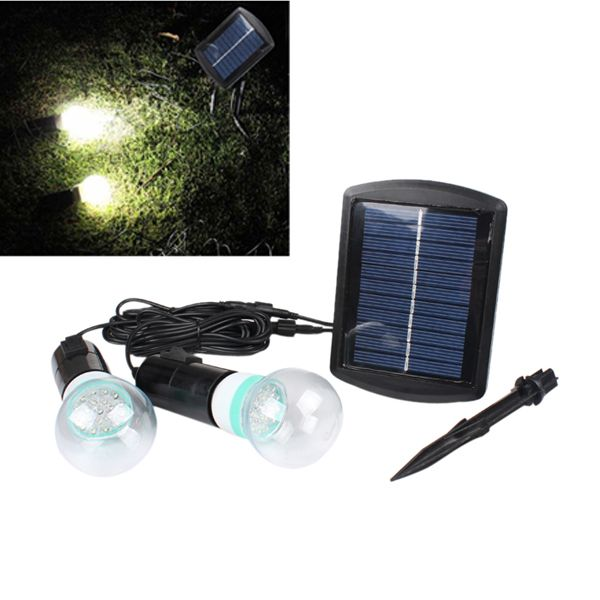 Led Outdoor Lighting Systems Solar power led lighting system 2 led bulbs garden yard outdoor solar power led lighting system 2 led bulbs garden yard outdoor light workwithnaturefo