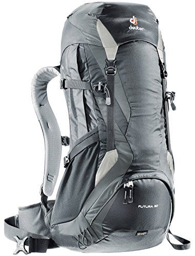 3e0136fb25 Sac à dos Deuter Futura pour hommes. Deuter Futura 32 Backpack  BlackTitanSilver * Check out the image by visiting the link.
