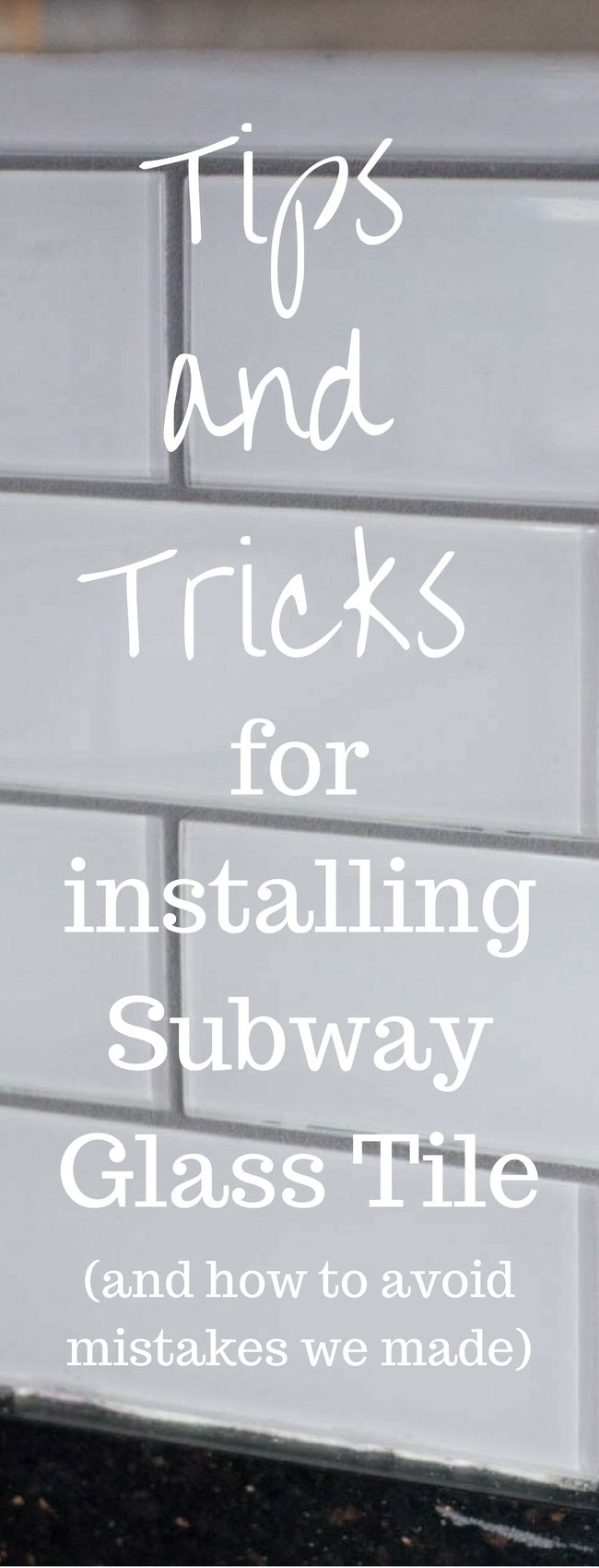 Tips and Tricks for DIY Subway Tile Backsplash Installation | Cocina ...