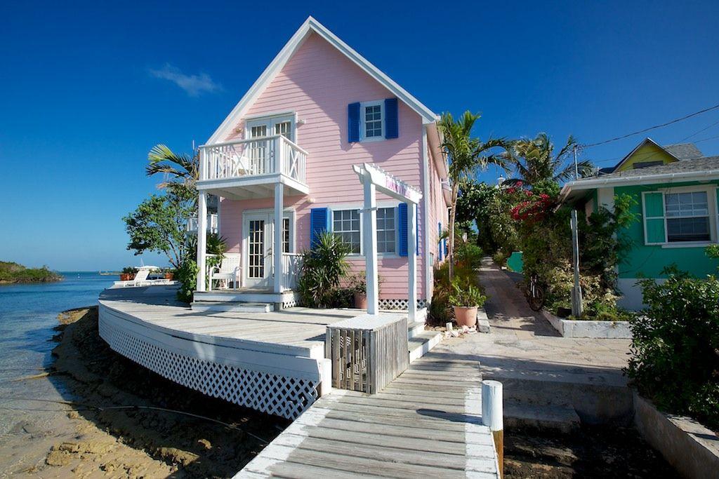 Pink Beach Houses Con Imágenes