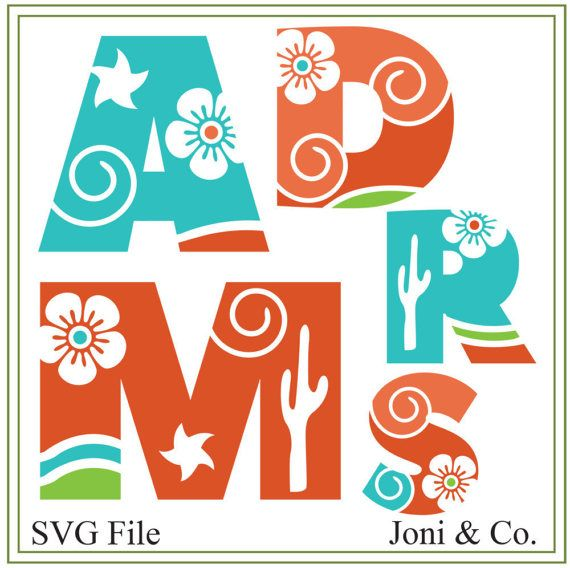 Southwest Alphabet SVG file for glass blocks, wedding decorations and craft projects.  Thank you for visiting the shop and having a look at the original artwork offered here.  This is an instant download of a SVG file to be used for cutting vinyl among many other uses.  WHAT YOU WILL RECEIVE  An SVG file will arrive zipped. All letters are on one file. Each letter is individually grouped.  A download link will be emailed to you just a few minutes after your purchase. You will also be able to…