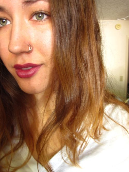 12 Double Nose Ring Tumblr Con Imagenes Doble Perforacion
