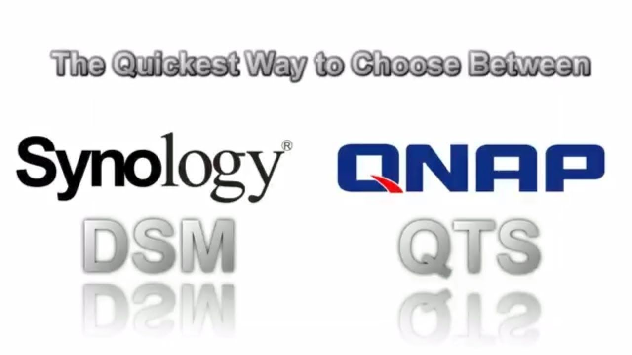 Synology DSM versus QNAP QTS Demos - The fast way to choose