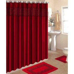 Excellent Ideas Red And Black Bathroom Set Cute Lovely Idea Sets Home Design Ibuwecom