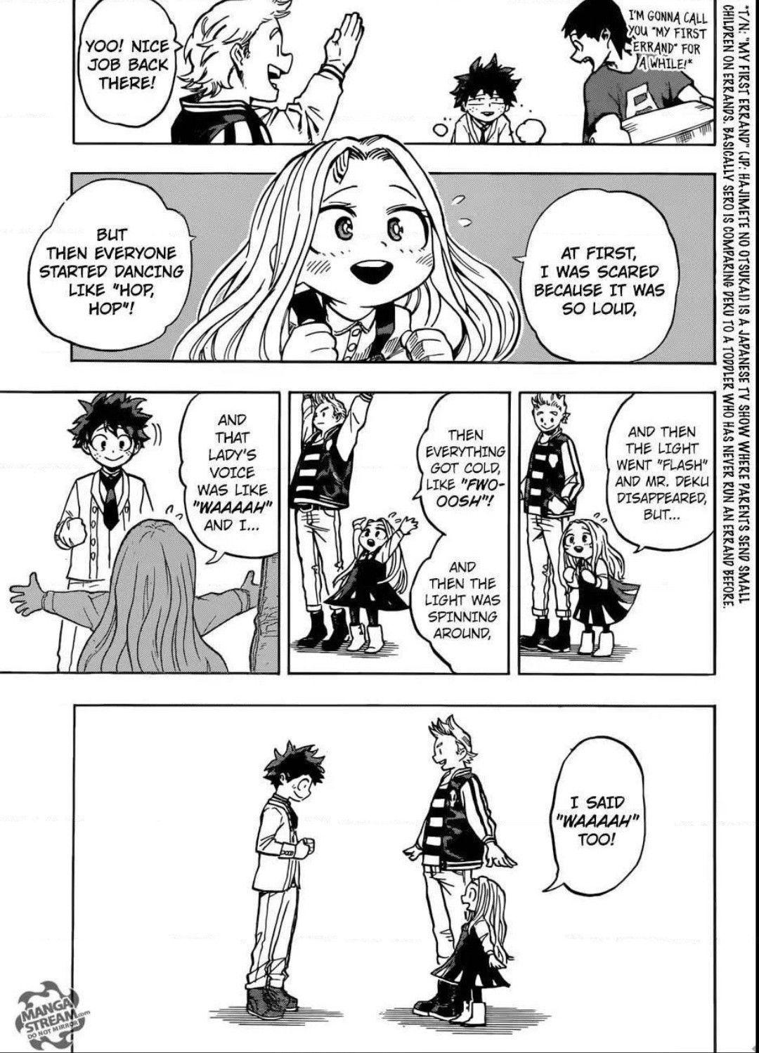 Eri chan is so cute BNHA 183 My hero academia manga