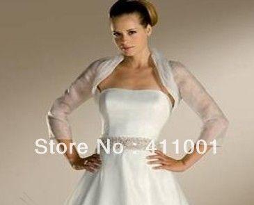 Full Sleeves Organza Bolero For Women Bridal Wraps Coat Wedding Jackets Wrap Ladies Shrugs Custom Made Us Online Wedding Dress Ball Dresses Fabulous Dresses