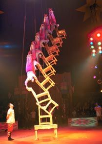 circus acts with chairs - Google Search