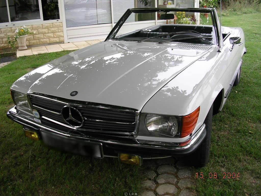 MERCEDES 350 SL de 1973