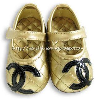 chanel children's shoes
