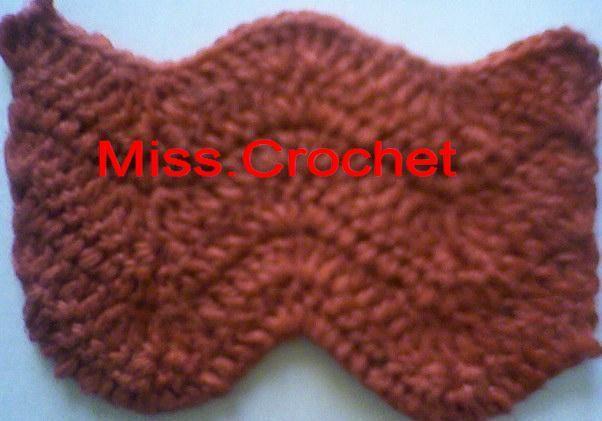 Ms.crochet: Sharp chevron | Schals und Tücher gehäkelt | Pinterest ...