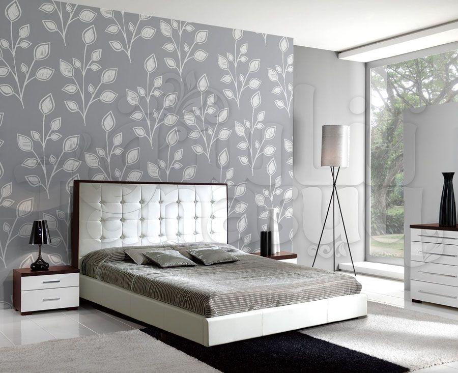 ورق حائط فضي Tanasuq Home Furniture Decor