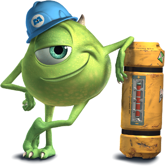 Mike Wazowski Characters Monsters Inc Disney Pixar Monsters Inc Characters Monsters Inc Movie Mike From Monsters Inc