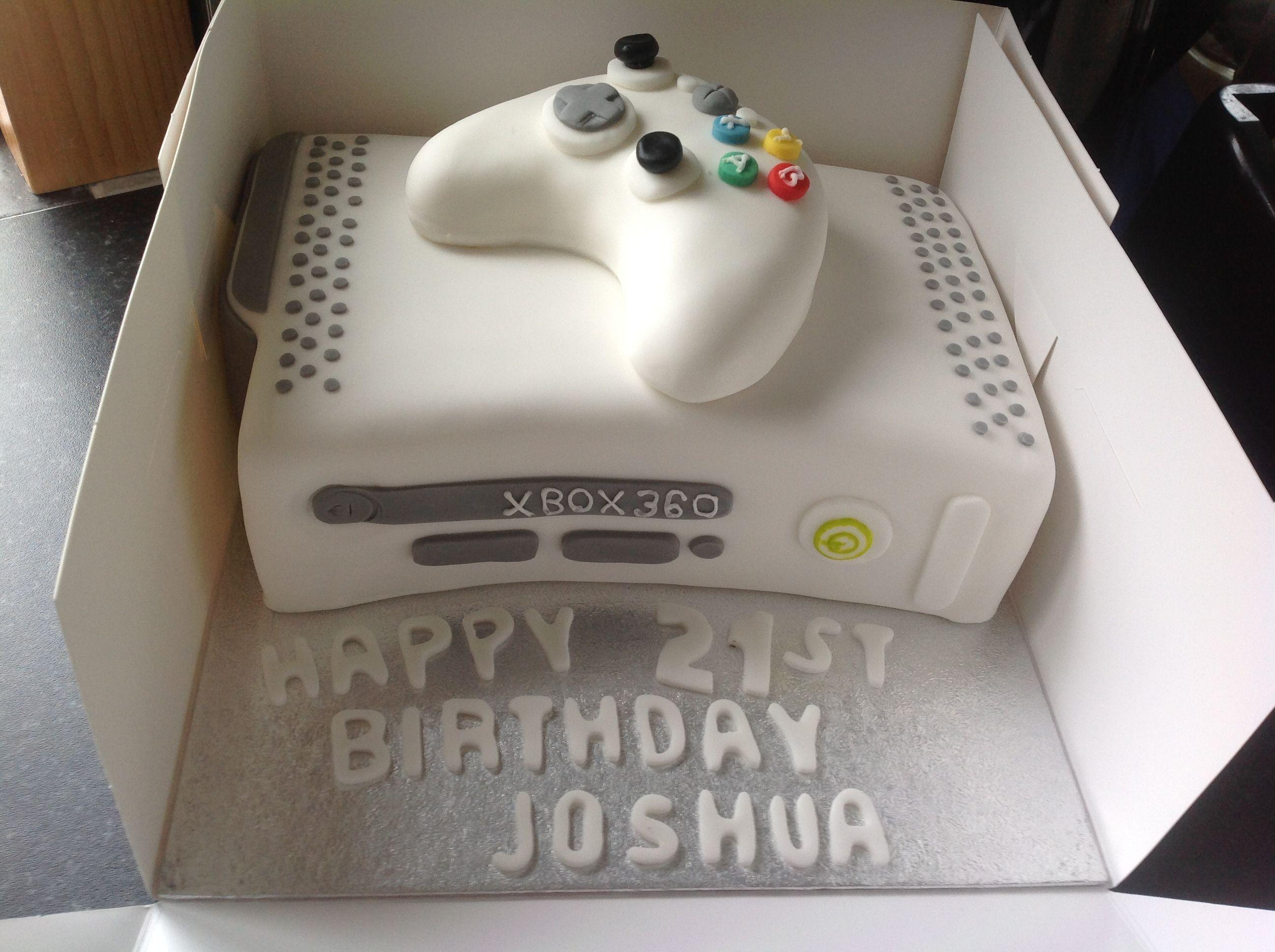 Xbox birthday cake  character cakes  Pinterest
