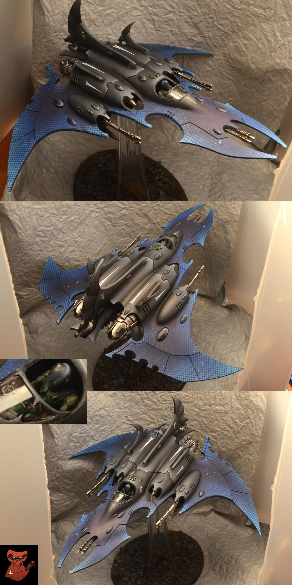 Dark Eldar Razorwing Jetfighter