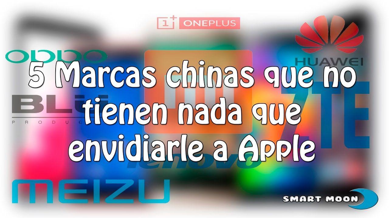 5 marcas chinas que no tienen nada que envidiarle a Apple | Smart Moon