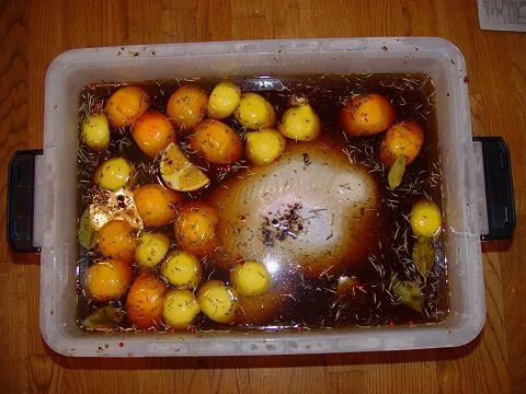 Fried Turkey Brine and how to fry a turkey