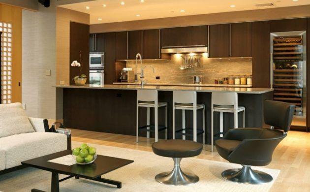 Offene Küche   44 Ideen, Wie Sie Die Küche Trendig Und Super Funktional  Einrichten