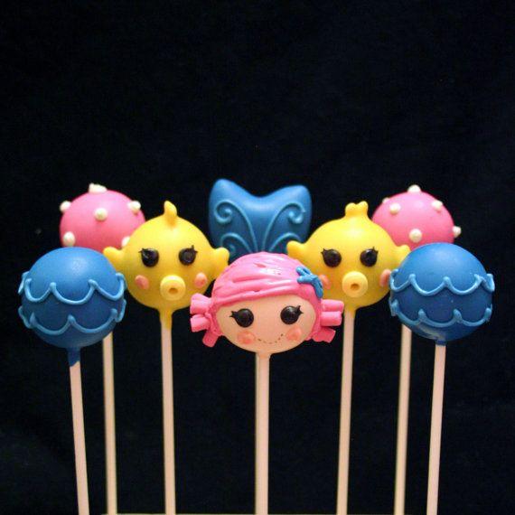 Blowfish Cake Pops