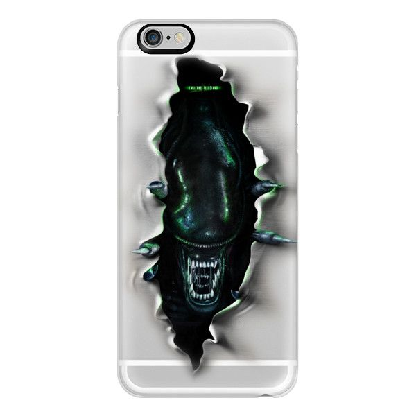 iPhone 6 Plus/6/5/5s/5c Case - Alien inside ($40) ❤ liked on Polyvore featuring accessories, tech accessories, iphone case, slim iphone case, iphone cover case and apple iphone cases