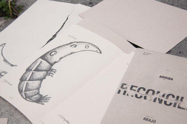 Fanzine. Polos Opuestos by Maria Andrea Gonzalez, via Behance