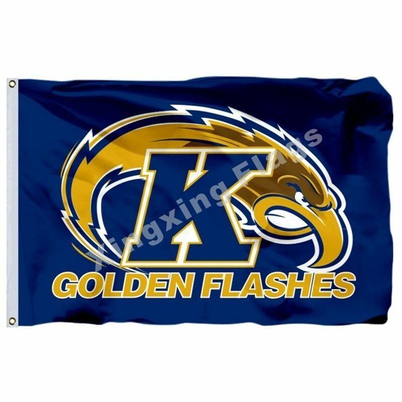 Kent State Golden Flashes Flag Custom NCAA Banner 3x5 FT