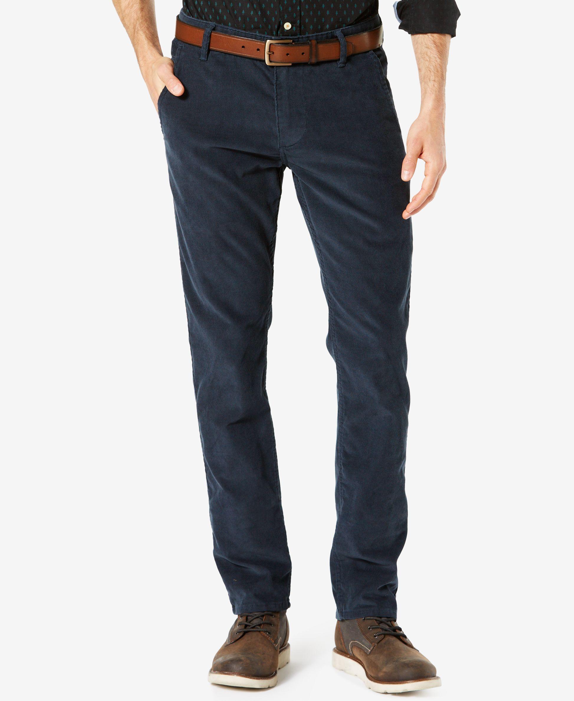 Dockers® Slim Tapered Fit Alpha Khaki Corduroy Pants