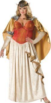 Adult Elite Plus Size Viking Princess Costume - Party City