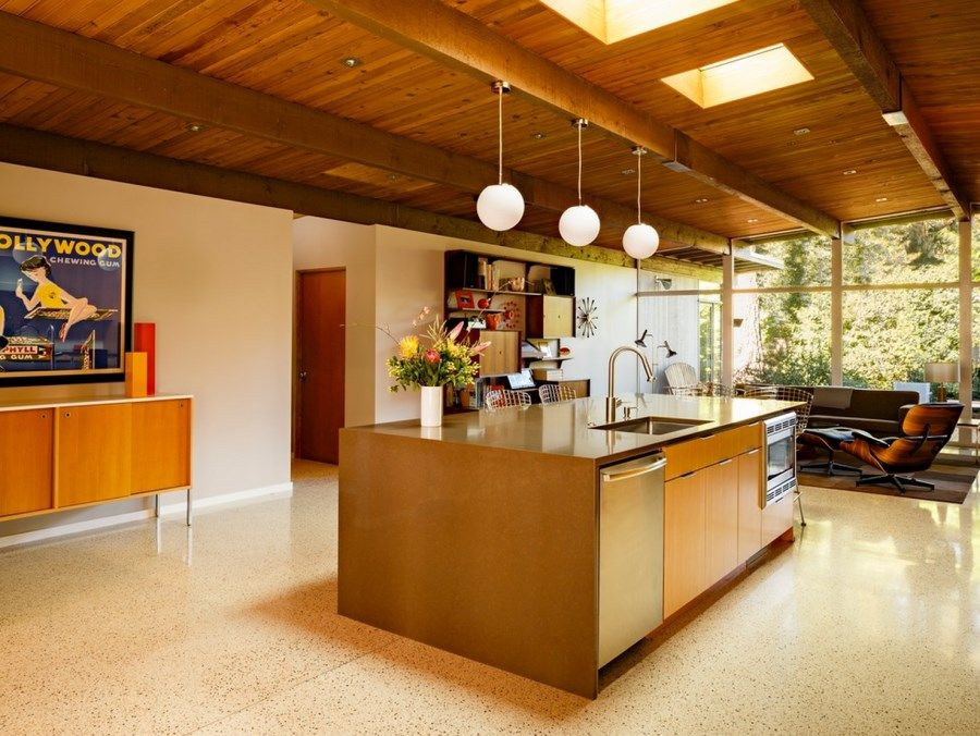 Terrazzo kitchen floor – Terrazzo floors are attractive, durable and ...