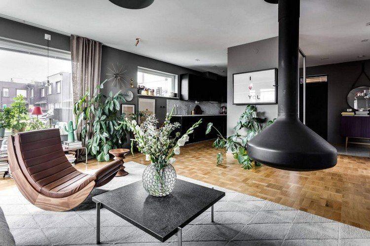 Offenes Wohnzimmer mit Küche Interior Design Pinterest