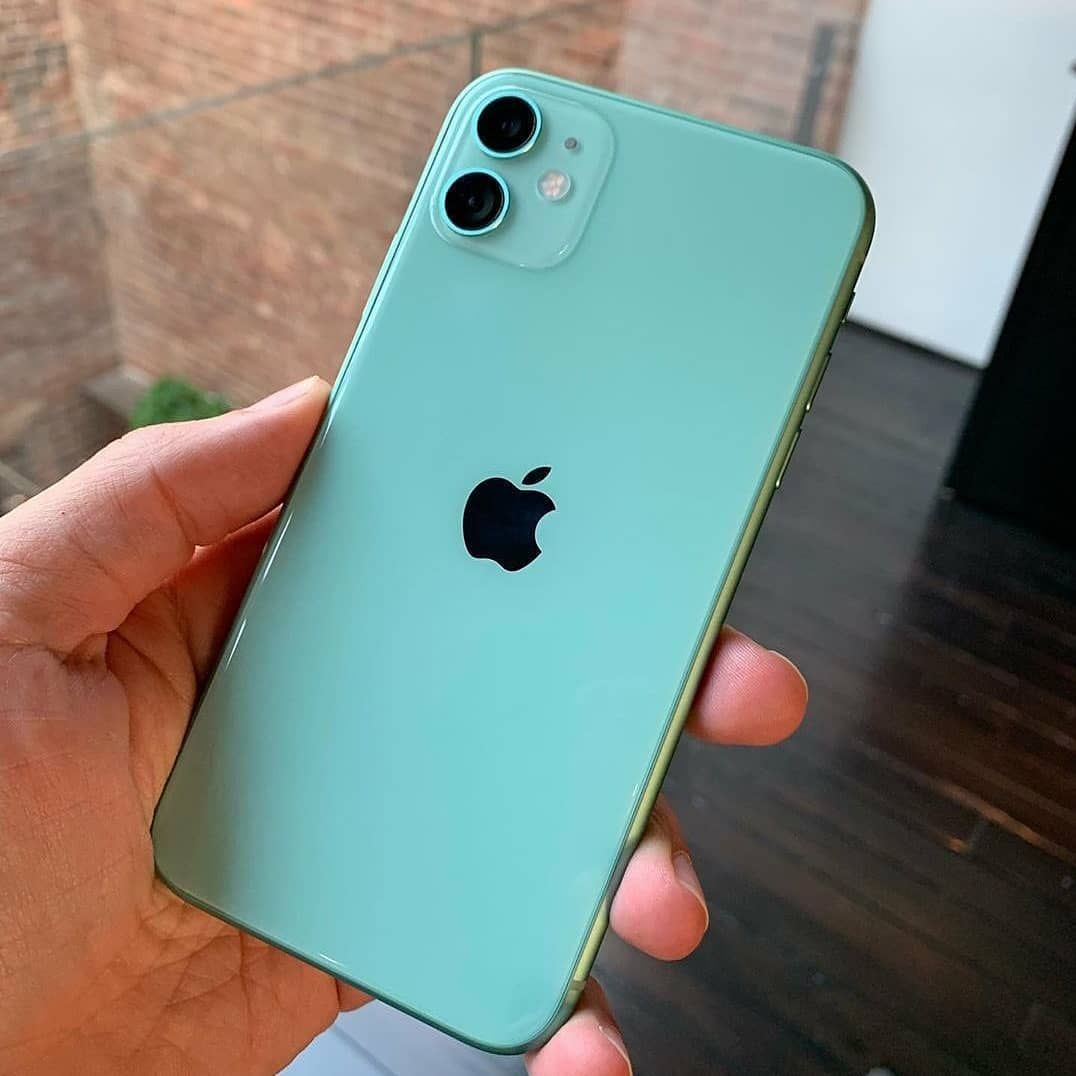 iPhone 11 beautiful Green colour Source appledsign