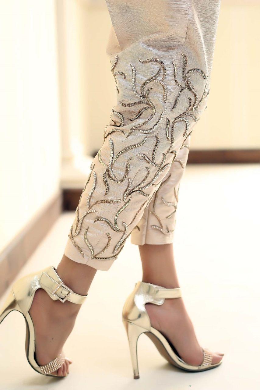 Black Pant Style Anarkali Suit Set   Pakistani fashion