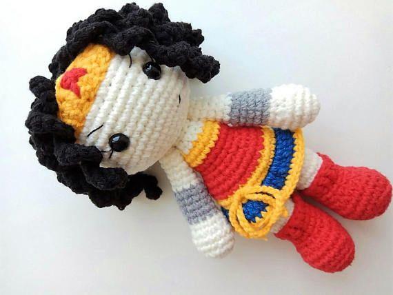 superman amigurumi #superman #crochetdoll | Amigurumi | 428x570