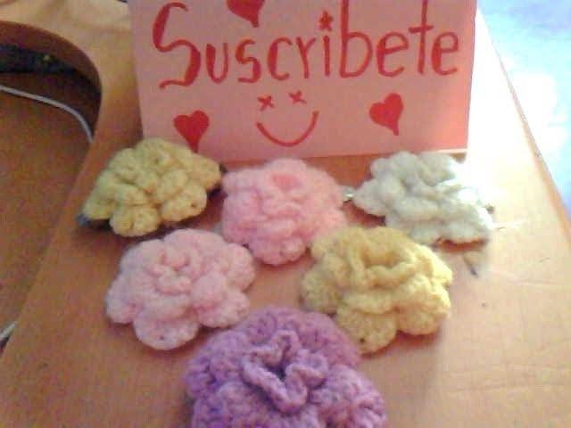 Como Hacer Una Flor Abultada A Crochet En Espaol Crochet en