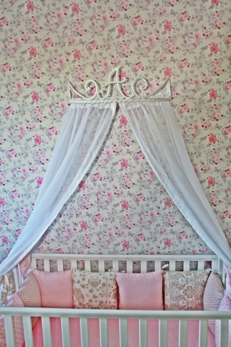 wall mounted bed canopy crown on bed canopy holder crown curtains frame blacksmith metall wall etsy bed canopy bed crown canopy crib canopy bed canopy holder crown curtains frame