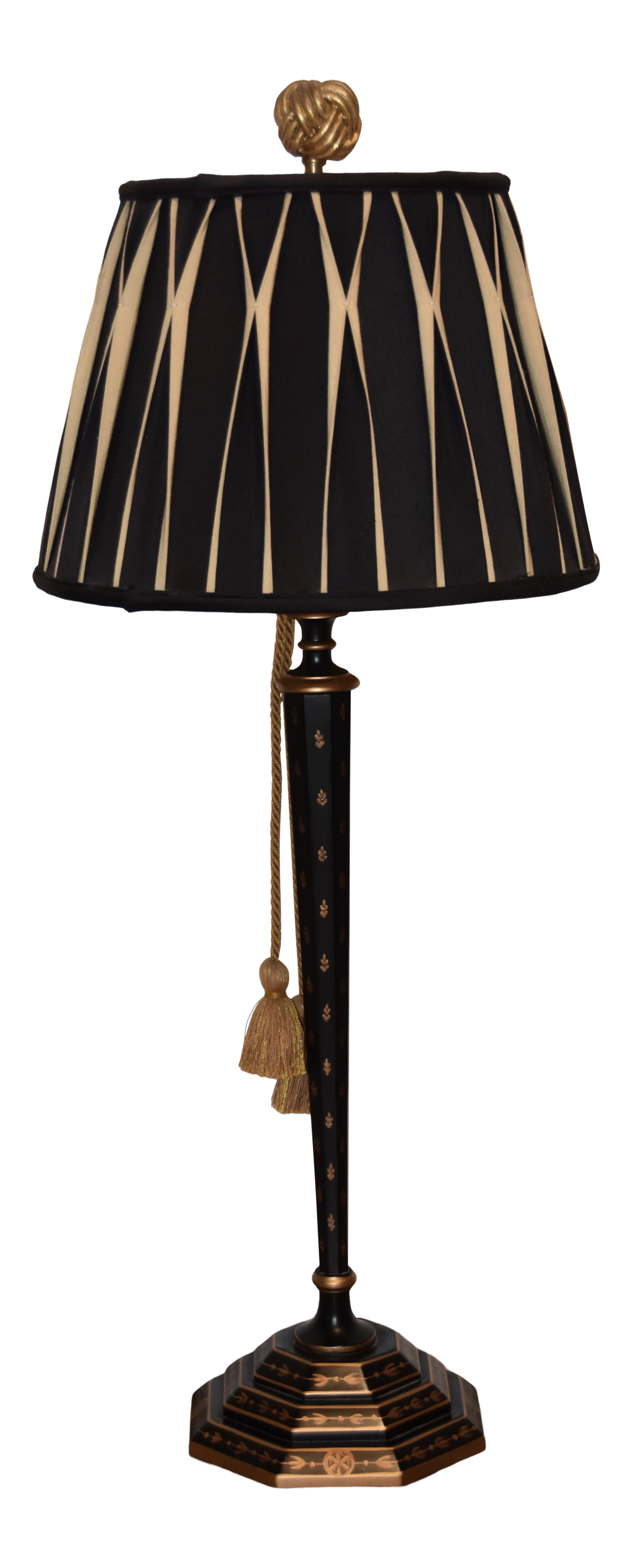 Chelsea House Regent Buffet Table Lamp With Shade Lamp Table