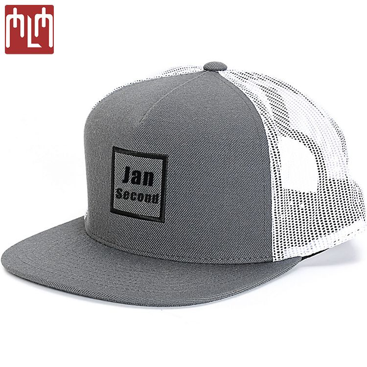 e50f1fa28bf Oem Service Custom Flat Brim Mesh Trucker Snapback Caps Hat With 3d  Embroidery - Buy 3d Embroidery Snapback Hat