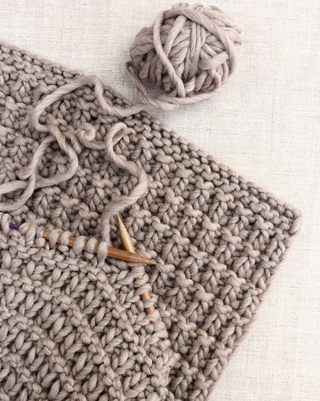 This simple textured bed throw is one of my favorite ...