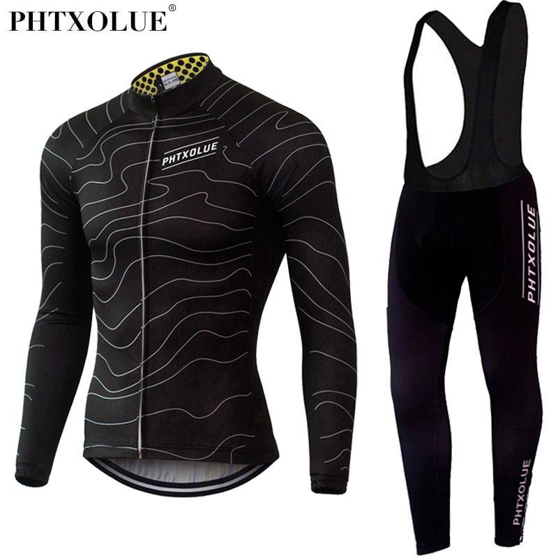 Phtxolue Winter Thermal Fleece Cycling Clothing Wear Bike MTB Jerseys  Cycling Sets 2016 Men s Cycling Jersey Sets QY069 c277c0086
