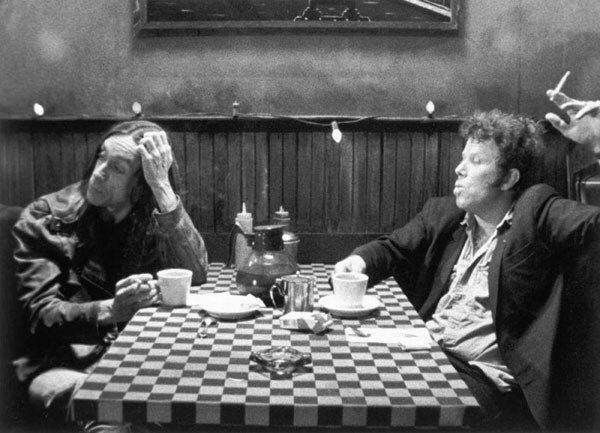 tom waits, iggy pop. coffee and cigarettes