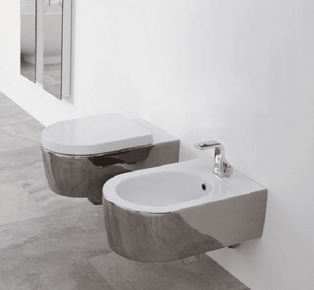 I sanitari sospesi in ceramica Link di Flaminia (design G ...