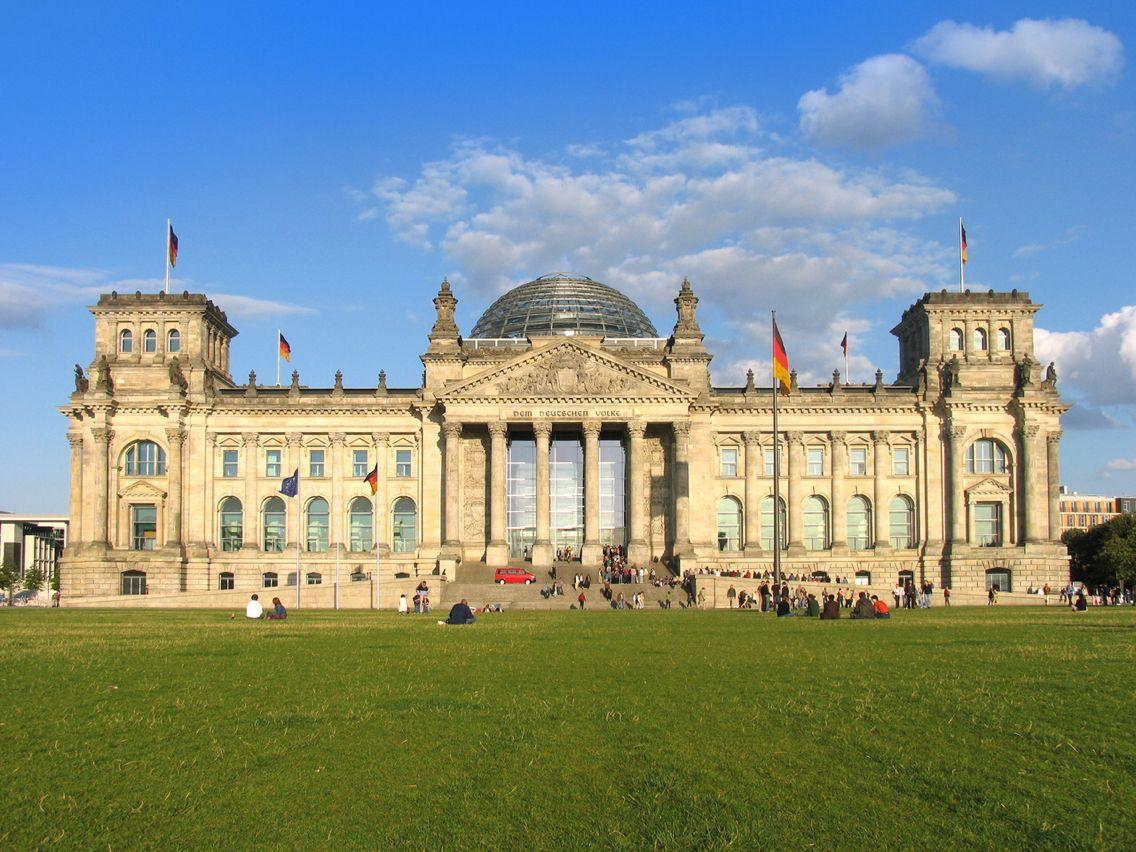 Das Reichtagsgebäude Deutschland, Deutsche