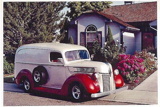 1941 Ford Panel For Sale Boise Idaho Classic Trucks Panel Truck Ford Trucks