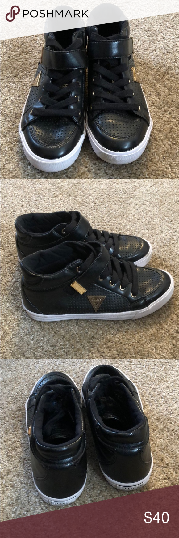 Guess sneakers These guess tennis shoes are the best way to bring some sporty ch  Guess sneakers These guess tennis shoes are the best way to bring some sporty ch