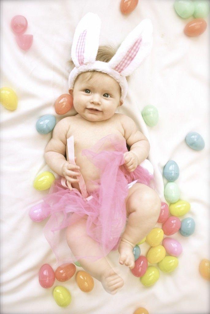 baby Easter photo idea