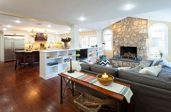 10 Tips To Organize Spaces Without Walls Bookshelves In Living